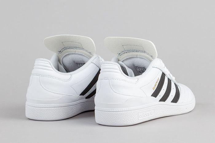 Adidas Busenitz Shoes Ftw White Core Black Gold Metallic 5