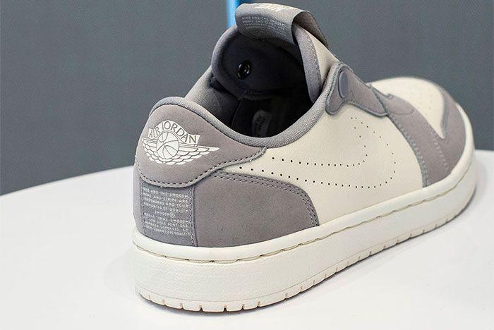 Jordan 1 Low Slip Grey 4 Rear