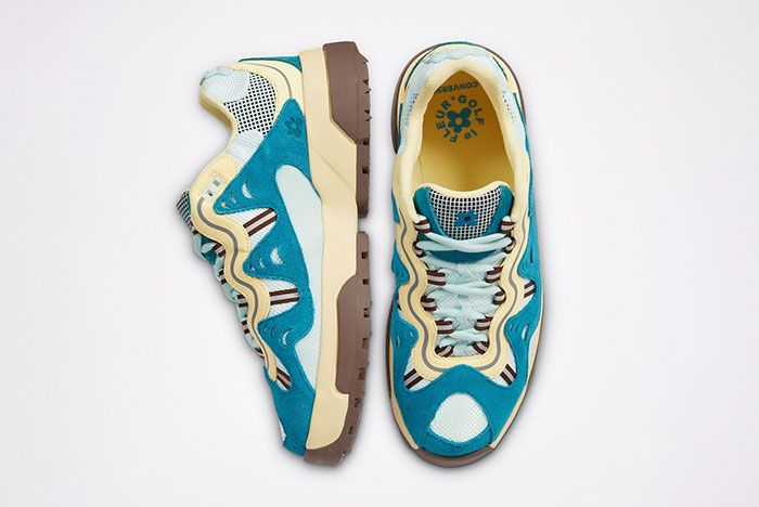 Golf Le Fleur Converse Gianno Blue Top Side