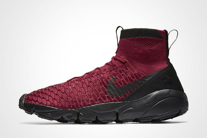 Nike Air Footscape Magista Flyknit Fc Burgundy Thumb
