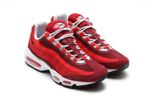 Nike Air Max 95 Jacquard University Red 4