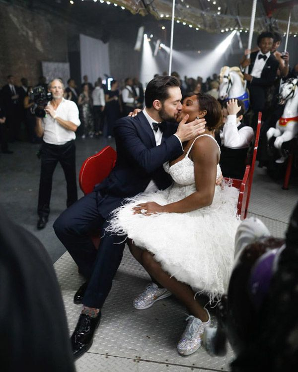 0 Serena Williams Nike Cortez Wedding 620X775