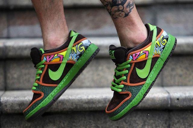 Nike Sb De La Soul Low 2