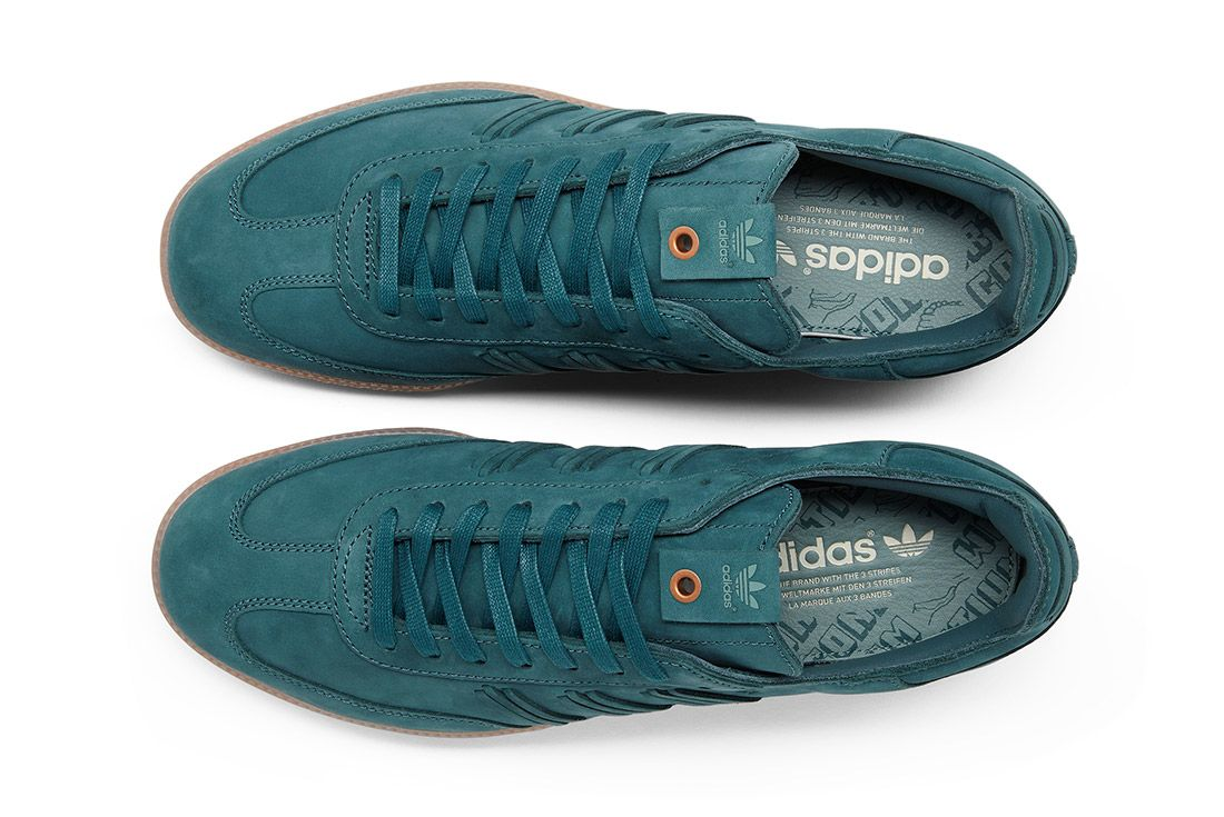 Adidas Consortium Womens Samba Deep Hue Pack Green 2
