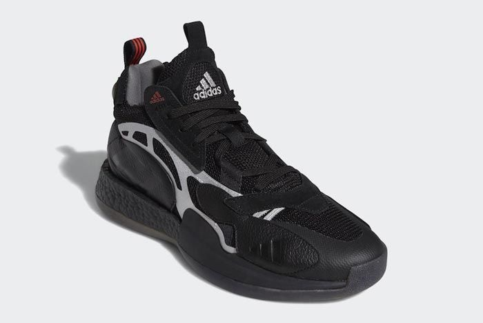 Adidas Marquee Boost 2 0 Black Front