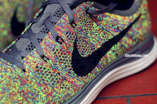 Nike Lunar Flyknit One Multi Color Detail 1