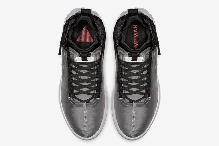 Air Jordan Proto React Metallic Silver Top Shot 4
