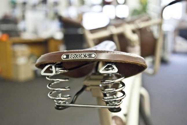Brooks Seat Puma Bike 1