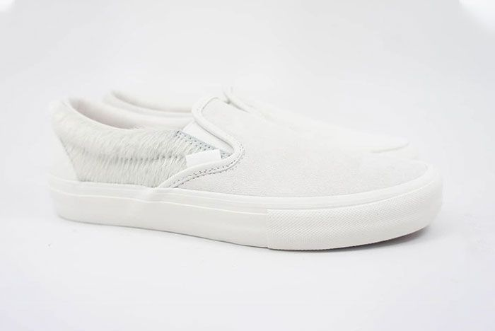Engineered Garments Vans Vault Slip On Cow White Right Lateral