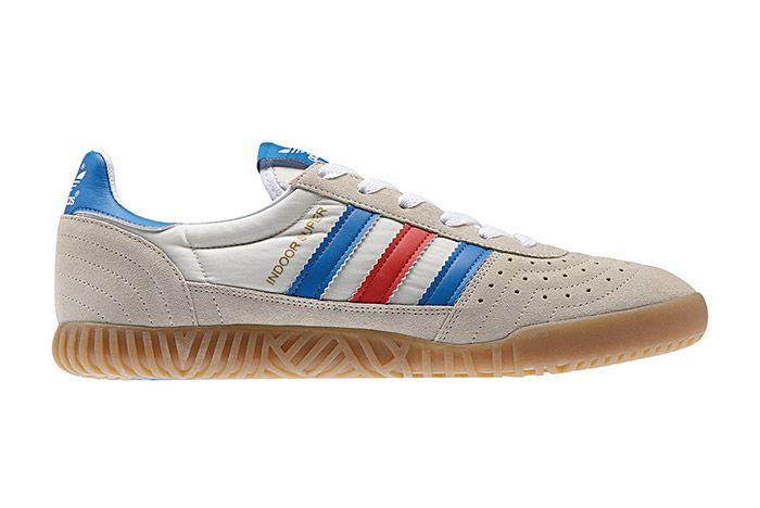 Adidas Spezial Indoor Super White Red Blue 2