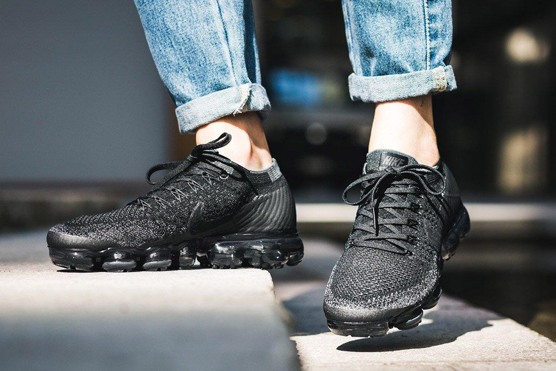 Nike Air Vapormax Black Anthracite On Feet 6