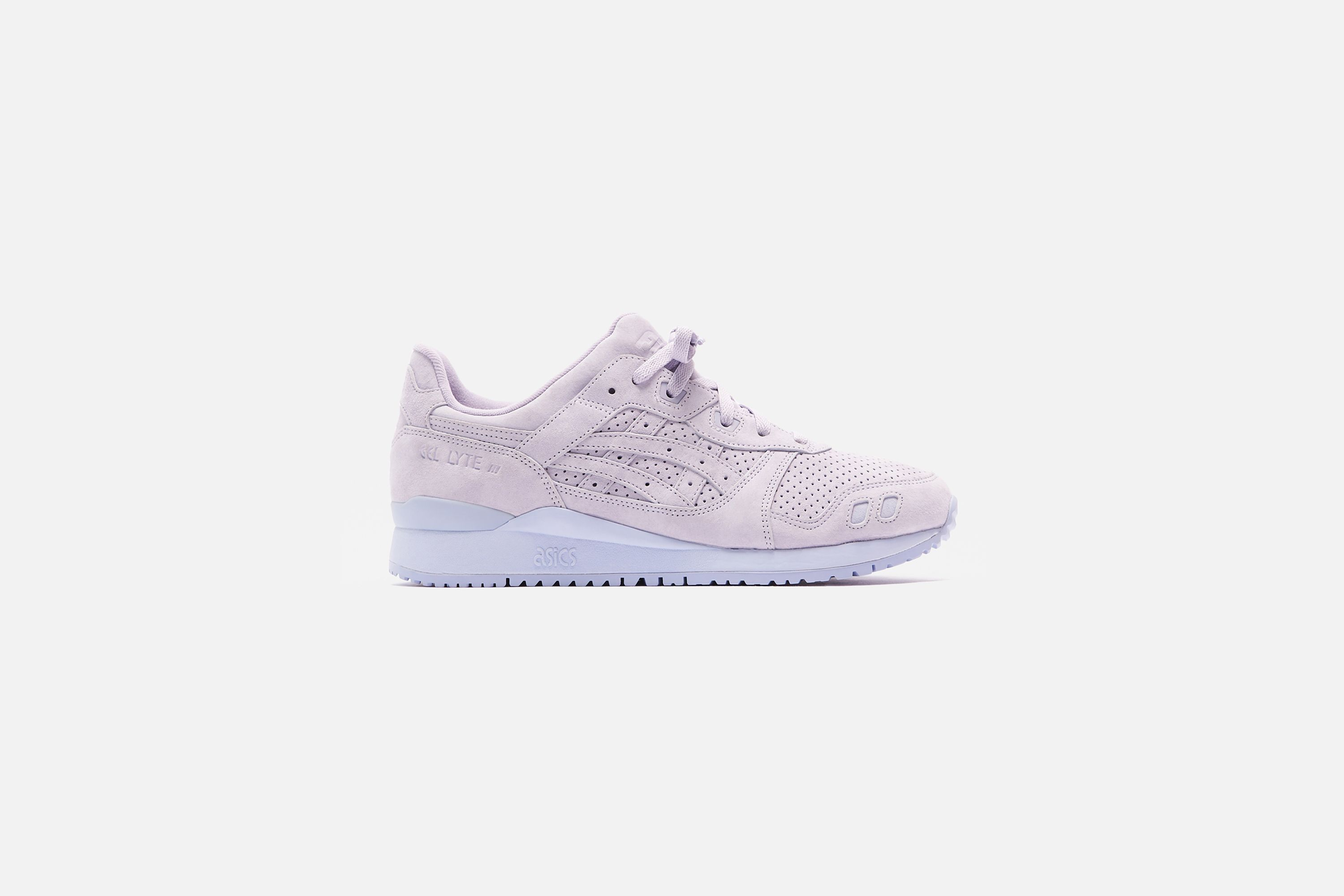 ronnie fieg kith asics gel lyte III palette single shoe on white