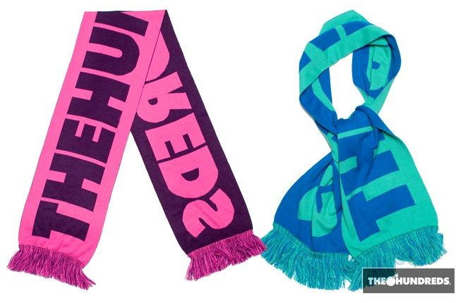 The Hundreds Class Scarf 1 Teal 1