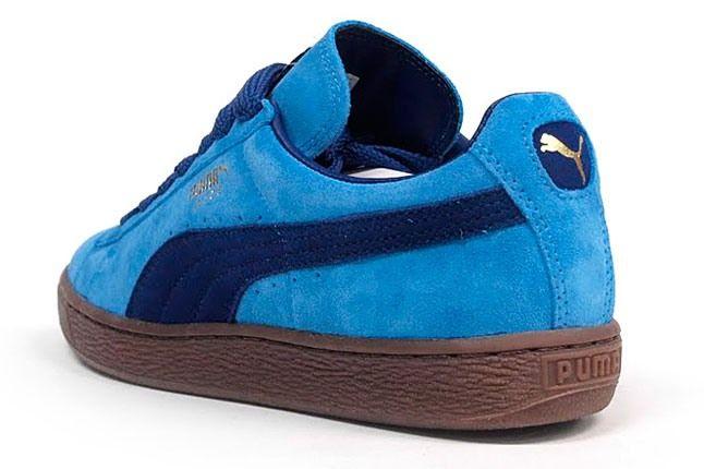 Puma Suede Blue Gum 1