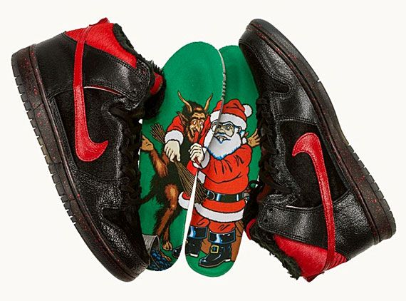 Sean Cliver x Nike SB Dunk High 'Krampus'