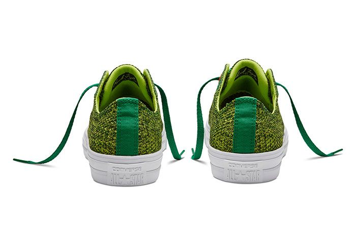 Converse Chuck Taylor All Star Low Open Knit Green 3