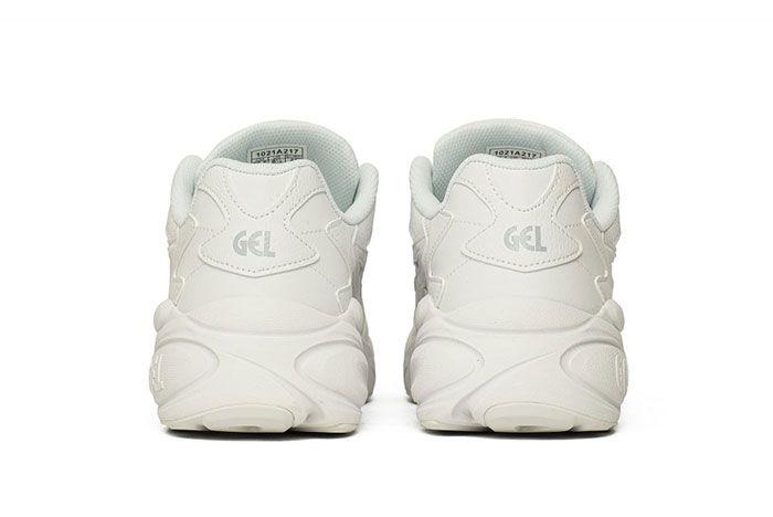 Asics Gel Bnd White Heel