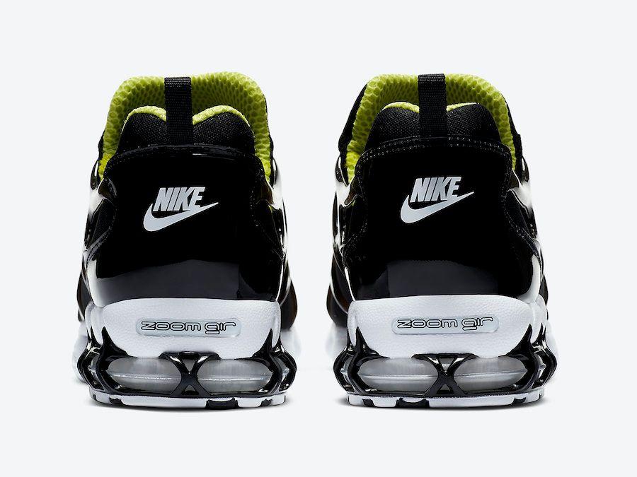 Stussy Nike Air Zoom Spiridon KK Black Heel
