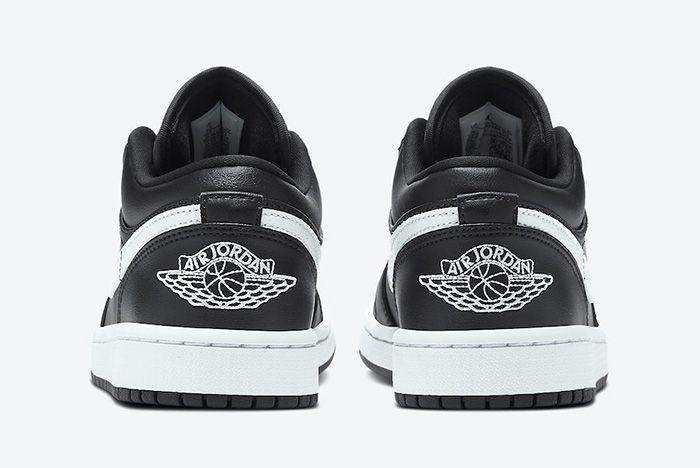 Air Jordan 1 Low Black White Ao9944 001 Release Date Official 5