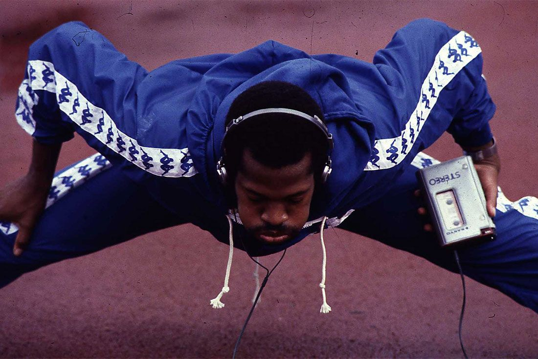 Kappa Usa Track And Field Olympics Long Warmup Walkman