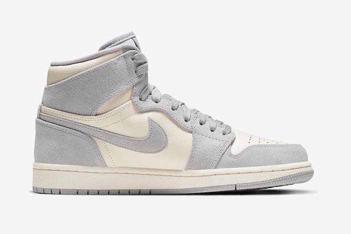 Air Jordan 1 Pale Ivory Medial