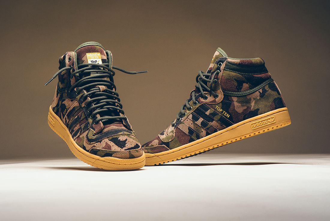 Adidas Top Ten Hi Camo 1