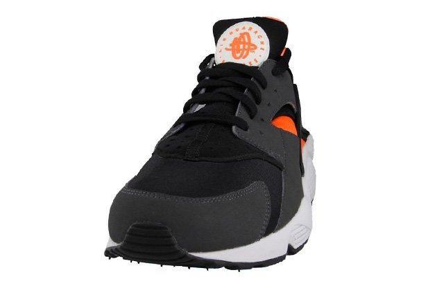 Nike Air Huarache Total Orange Black 1