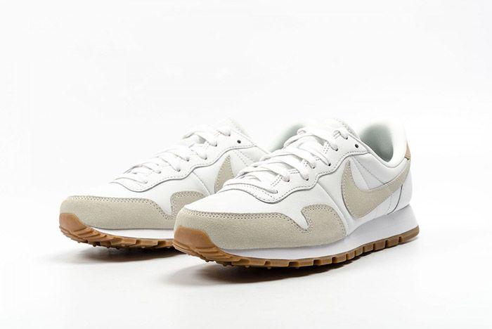 Nike Air Pegasus 83 Premium White Grey Leather 1