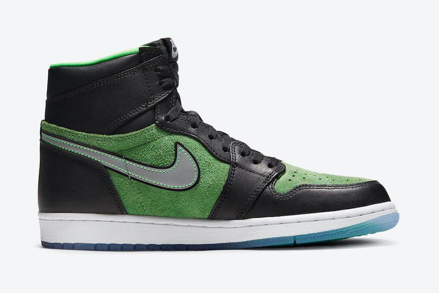 Air Jordan 1 Zoom Rage Green