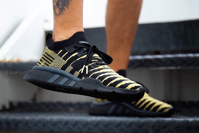 Shenron Adidas Dragon Ball Z Eqt Support Mid Adv Black Gold Sneaker Freaker