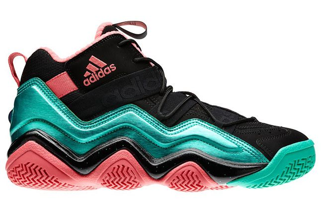 Adidas Top Ten 2000 South Beach Miami Black Lab Pink 01 1