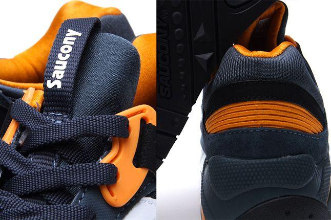 Saucony Grid 9000 Premium Pack Slate Orange 3 1