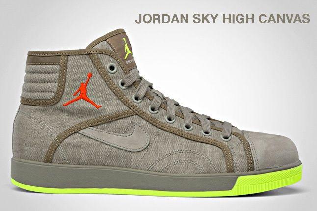 Jordan Sky High Canvas 2
