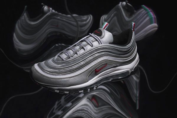 Nike Air Max 97 Silver Bullet Italian Exclusive Angled