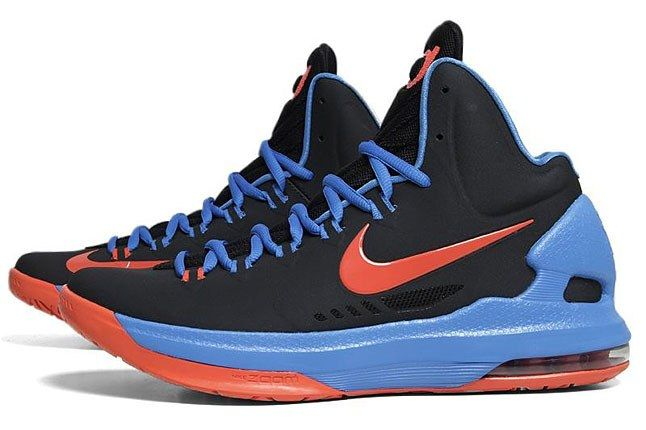 Nike Kd 5 Oklahoma Thunder Away 1