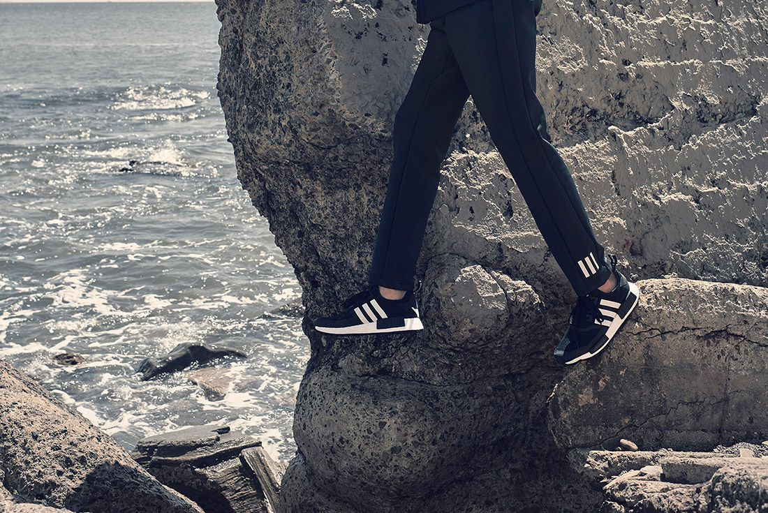 White Mountaineering Adidas On Foot 1