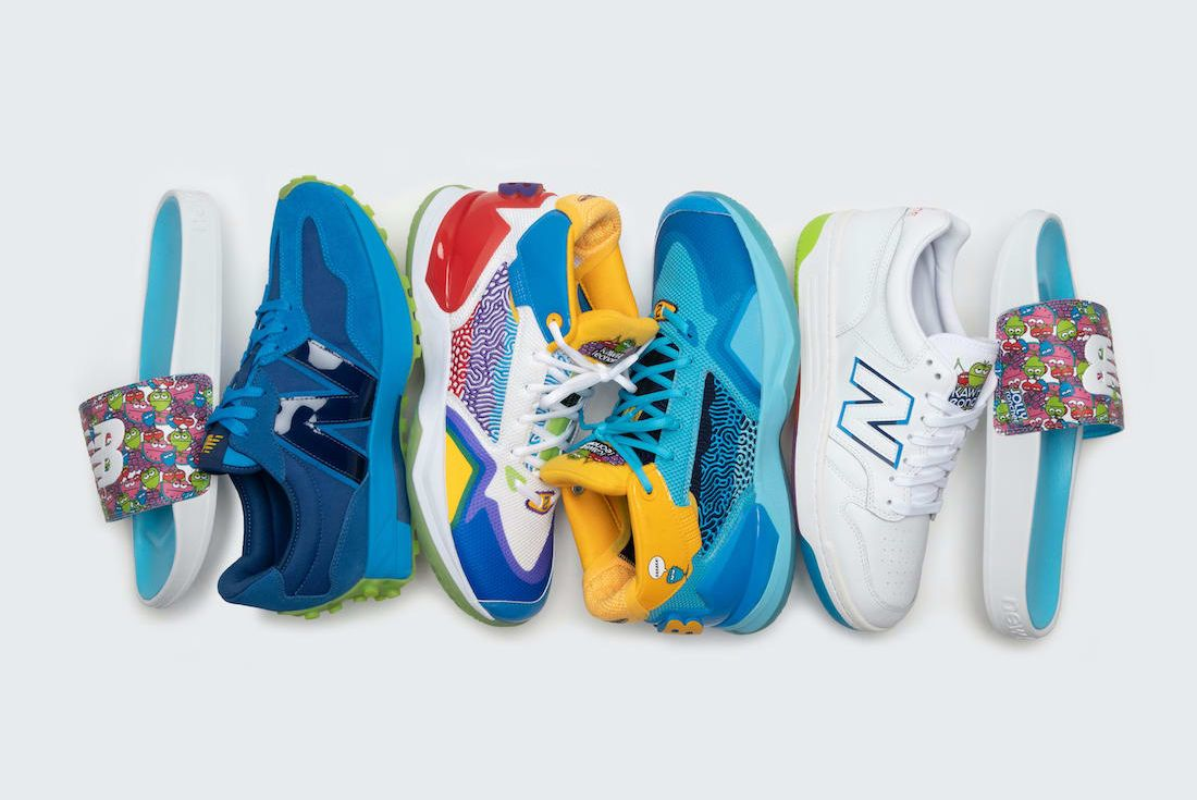 Jolly Rancher x New Balance Kawhi Collection