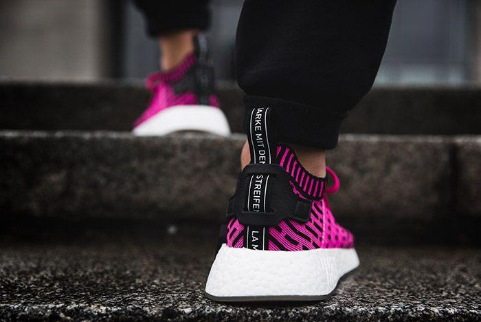Adidas Nmd R2 Shock Pink 2