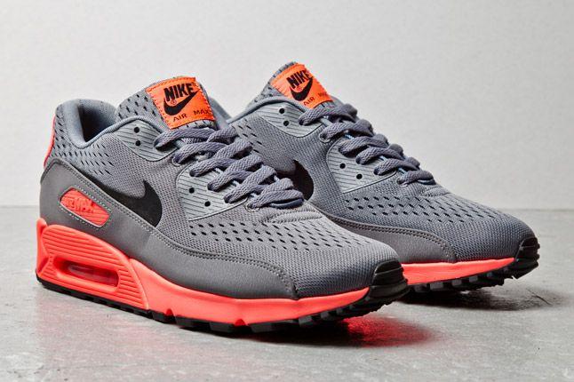 Nike Air Max 90 Em Grey Fluro 2 1