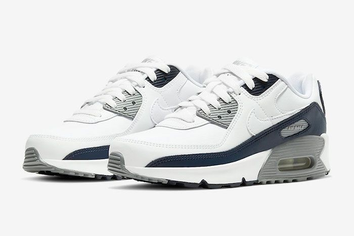 Nike Air Max 90 Obsidian Cd6864 105 Front Angle