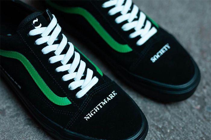 Coutie Vans Old Skool Nightmare Society Release Date Toes