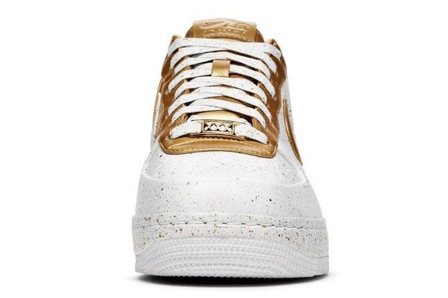 Nike Sportswear Af1 Xxx Gold Front 1