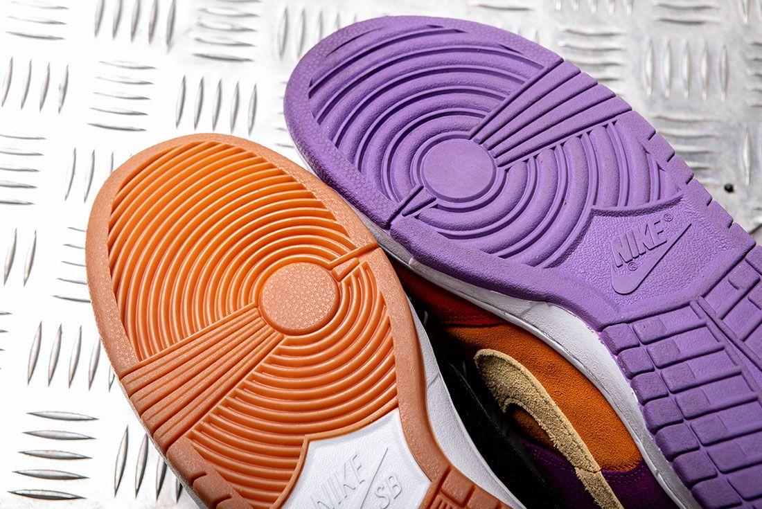 Nike Dunk Vs Nike Sb Dunk Outsole Forefoot