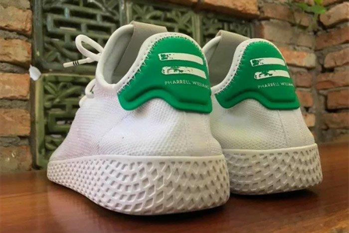 Adidas Pharrell Williams Stan Smith Hu Nmd White 3