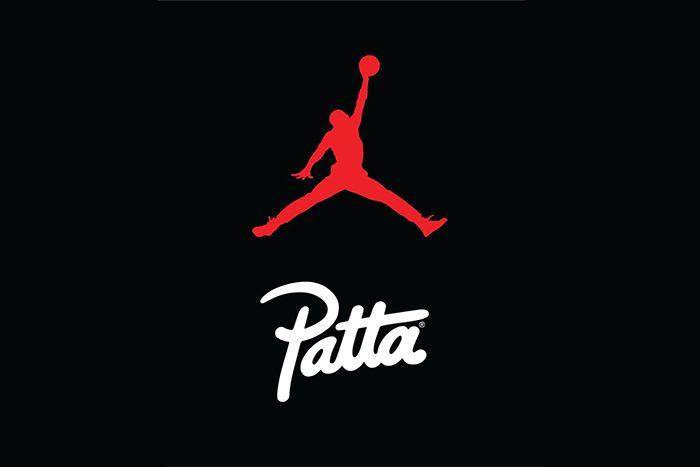 Patta Jordan Brand Collaboration Teaser Logos