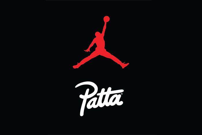Patta Jordan Brand Collaboration Teaser Logos
