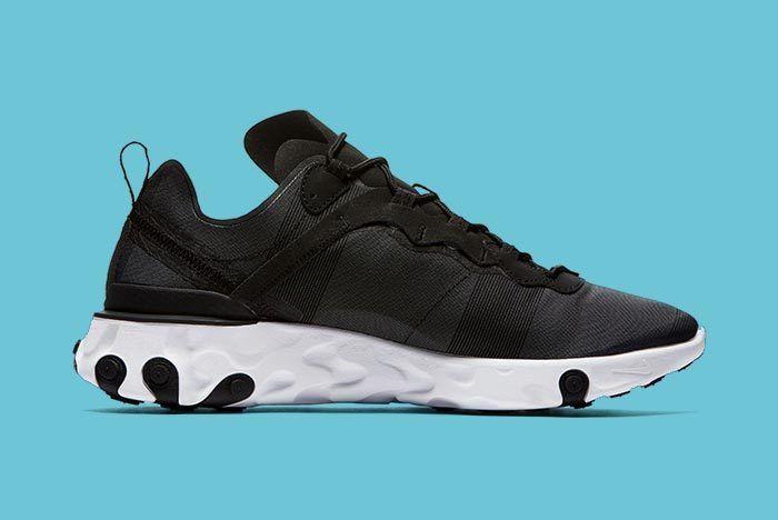 Nike Element React Black White 4