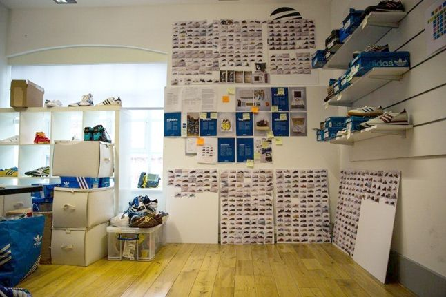 Adidas Spezial Pinboards