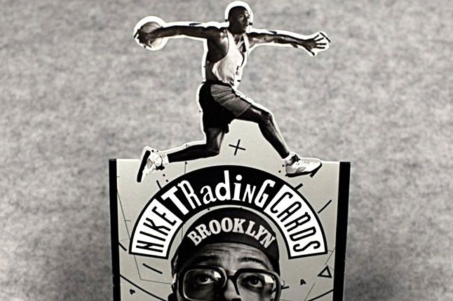 Vintage Nike Mars Blackmon Michael Jordan Trading Cards 6 1