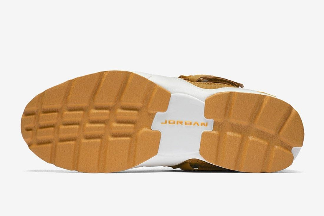 Air Jordan Trunner Lx High Golden Harvest Wheat Brown 2